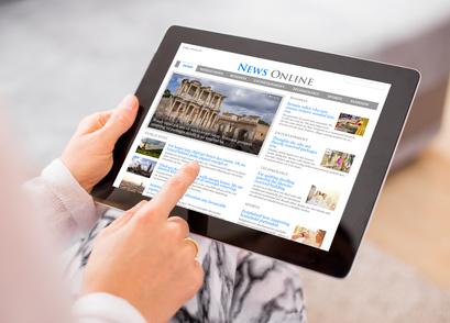 digital press release Newswire on news site