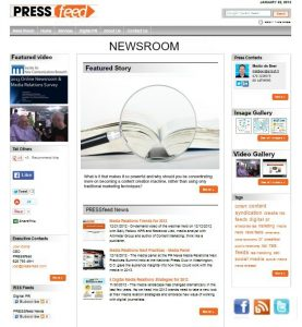 online visual newsroom