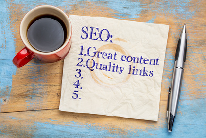 SEO (search engine optimization) tips (quality content and quality links)